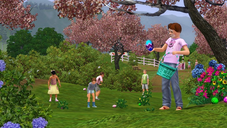 The Sims 3 Seasons Screenshots Features A Sim For All Seasons #23223