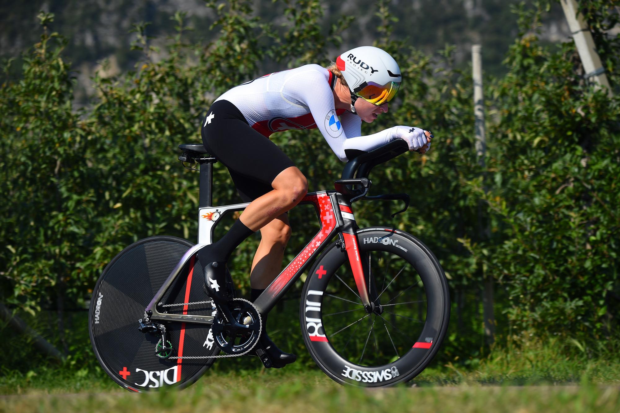 2021 UEC Road European Championships Trento Elite Womens Individual Time Trial 224 km 09092021 Mareln Reussen Switzerland photo Dario BelingheriBettiniPhoto2021