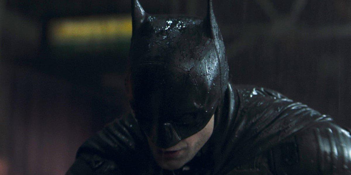 Robert Pattinson as Bruce Wayne/The Batman in The Batman (2021)