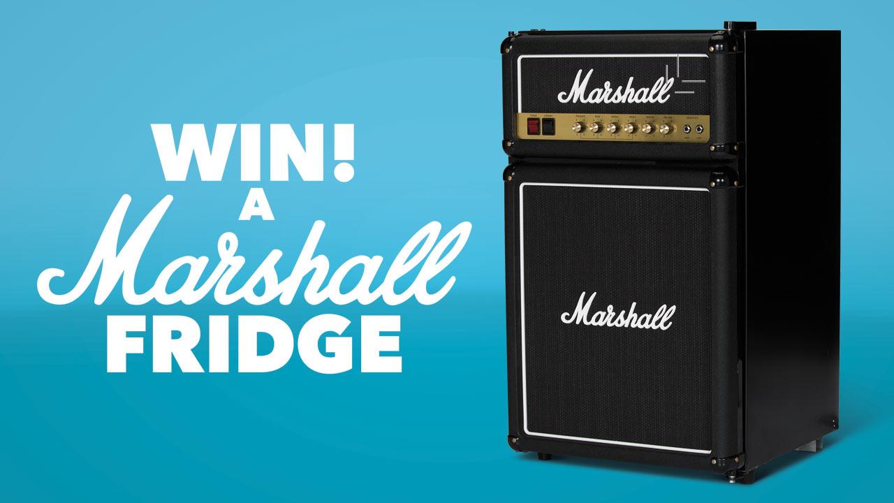 Win a Marshall Fridge!   Louder