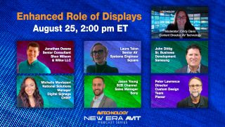 Webcast: Enhanced Role of Displays in the Workplace and Campus, Wednesday, August 25, 2021 at 2:00 p.m. ET