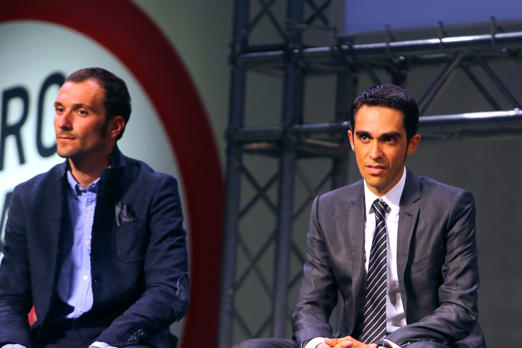 Alberto Contador and Ivan Basso want to take their development squad to the WorldTour