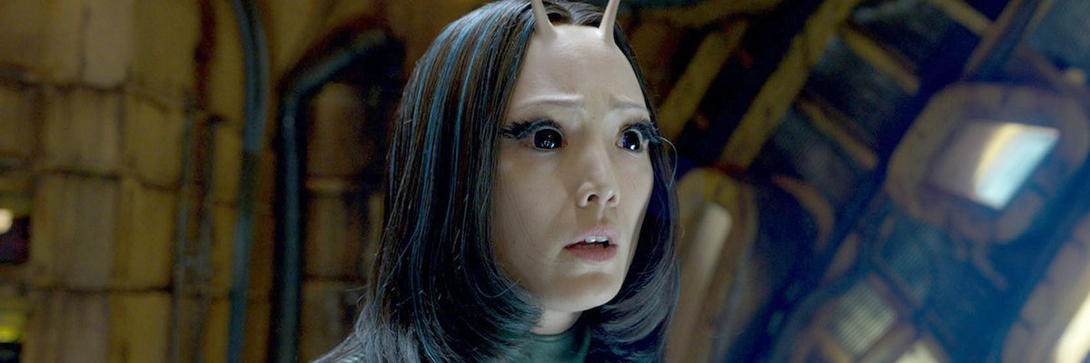 Pom Klementieff as Mantis in Guardians of the Galaxy Vol. 2