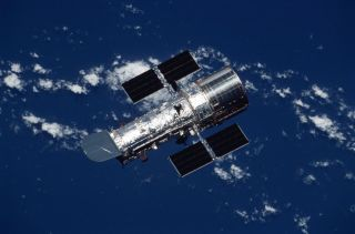 Hubble Space Telescope and Clouds
