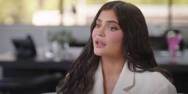 Kylie Jenner Is Celebrating Her Upcoming Birthday By Going Topless And Covering Herself In Gold Dust, As A Kardashian Does