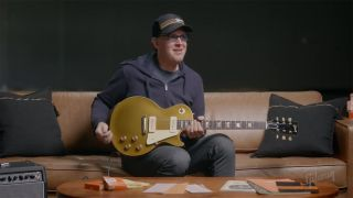 Joe Bonamassa with a Gibson Murphy Lab Les Paul