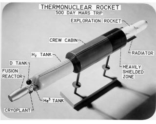 space history, NASA, nuclear propulsion