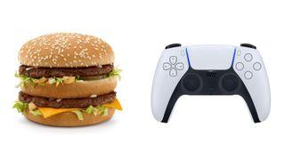 McDonald's PS5 controller
