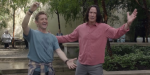 The Original Bill And Ted Face The Music Ending Was Totally Different And Really Sad