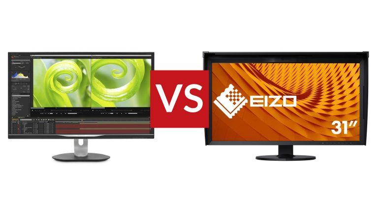 Philips Brilliance 328P vs Eizo Coloredge CG319X