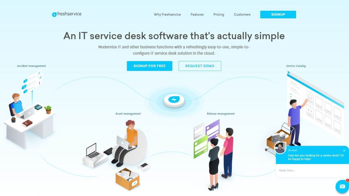 Freshservice review | TechRadar