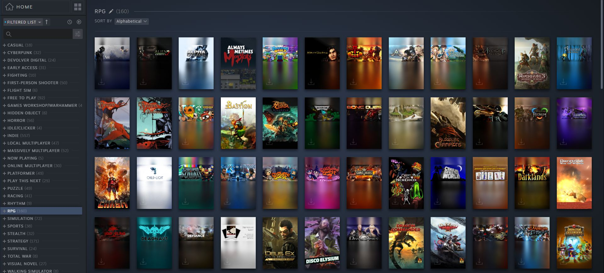 What do you think of the new Steam library? | PC Gamer