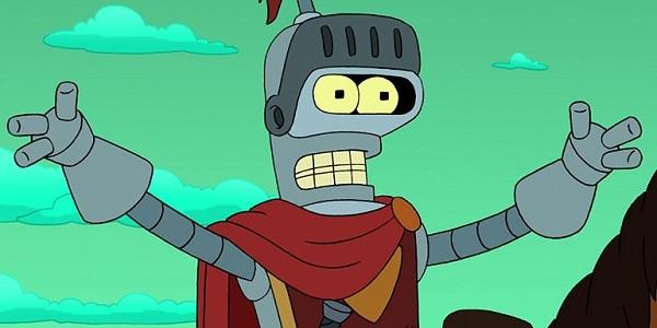 futurama bender robot army