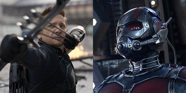 Hawkeye and Ant-Man