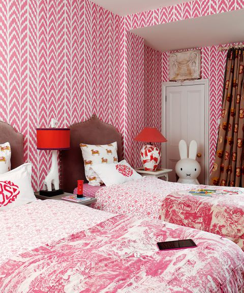 Children S Bedroom Wallpaper Ideas Add Character With Wallpaper Homes Gardens