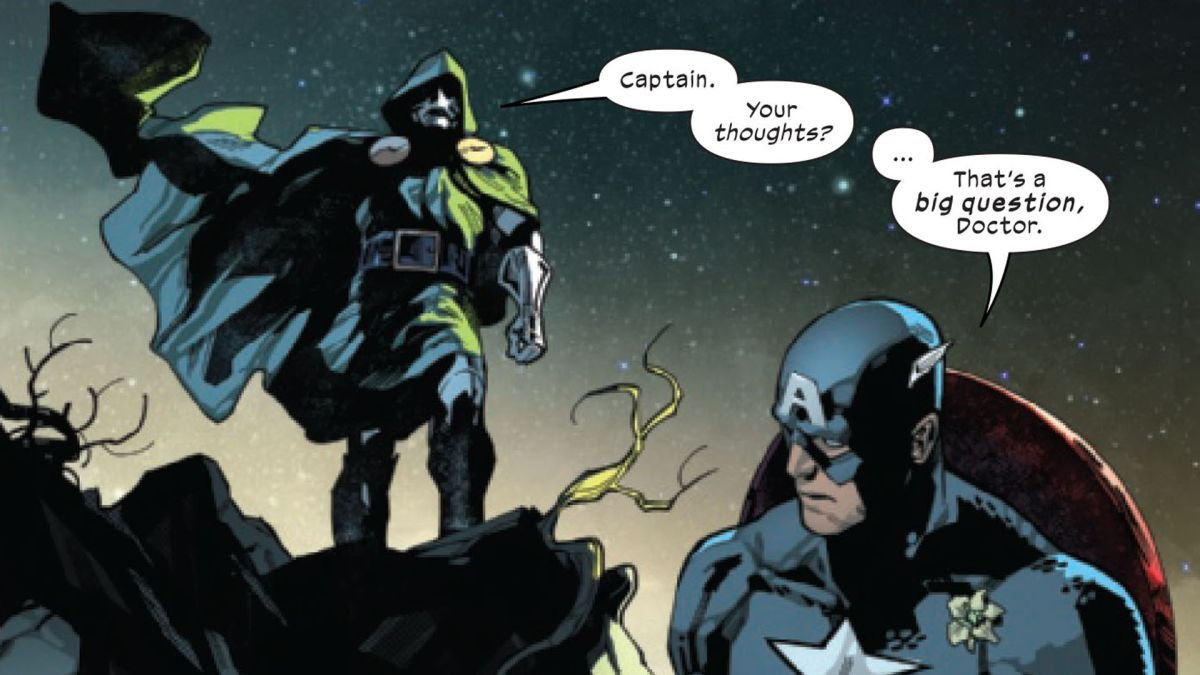 """Captain America is """"shell-shocked"""" by X-Men's Hellfire Gala in SWORD #6  preview   GamesRadar+"""