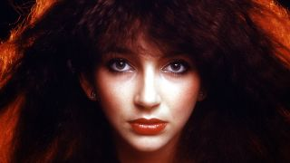 a portrait of kate bush