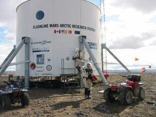 Mars Society Simulated Spacewalk