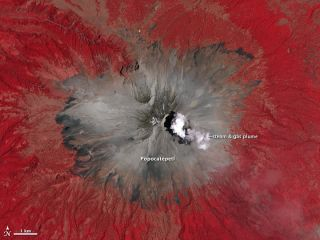 volcano, Mexico, eruptions