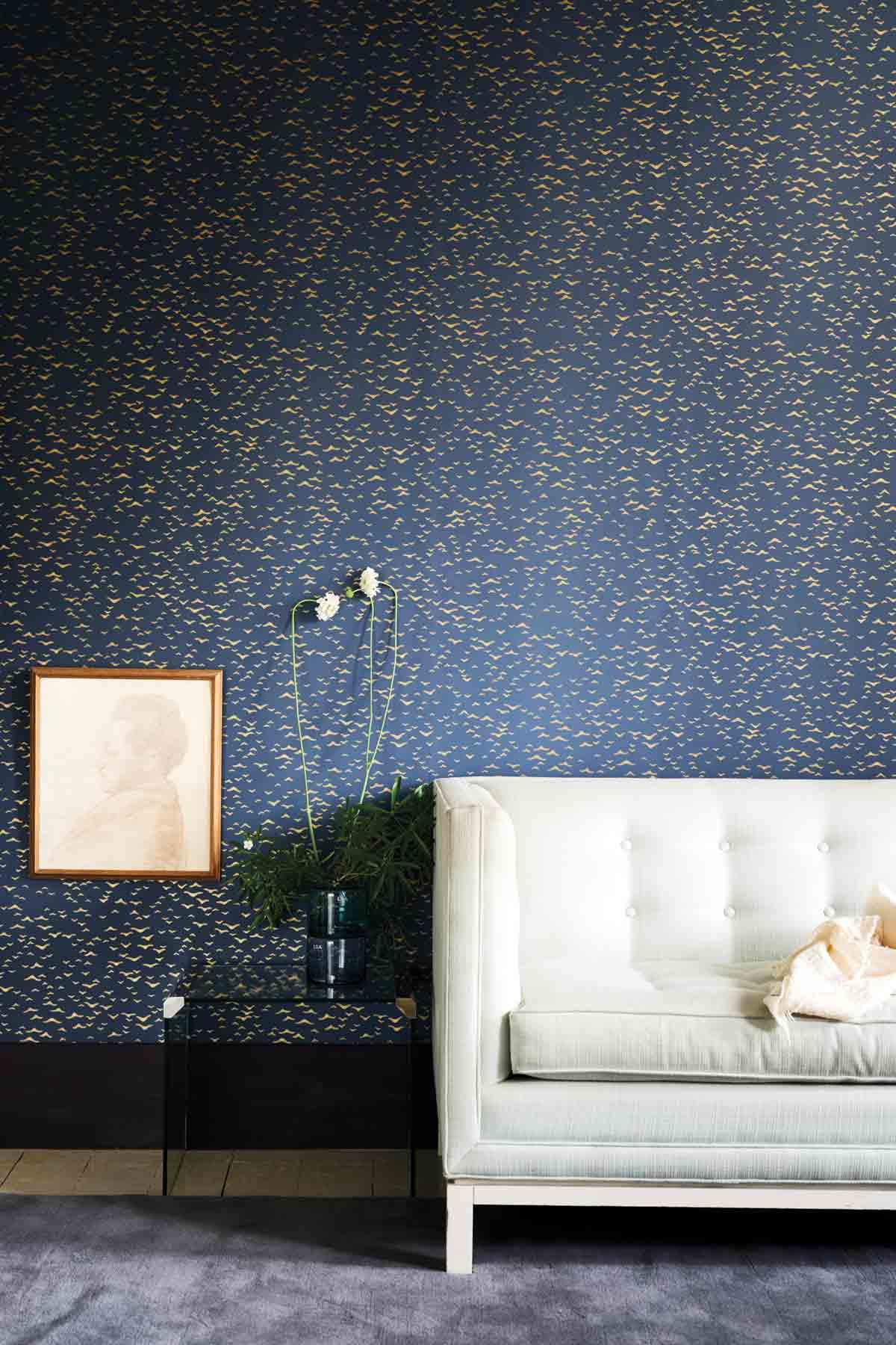 Beautiful New Metallic Wallpapers from Farrow & Ball ...