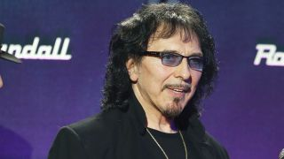 A picture of Black Sabbath guitarist Tony Iommi