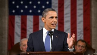 President Obama gave the State of the Union address on Jan. 25, 2011.