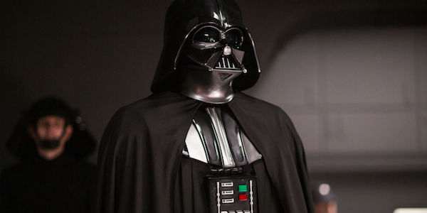 Darth Vader in the Deathstar