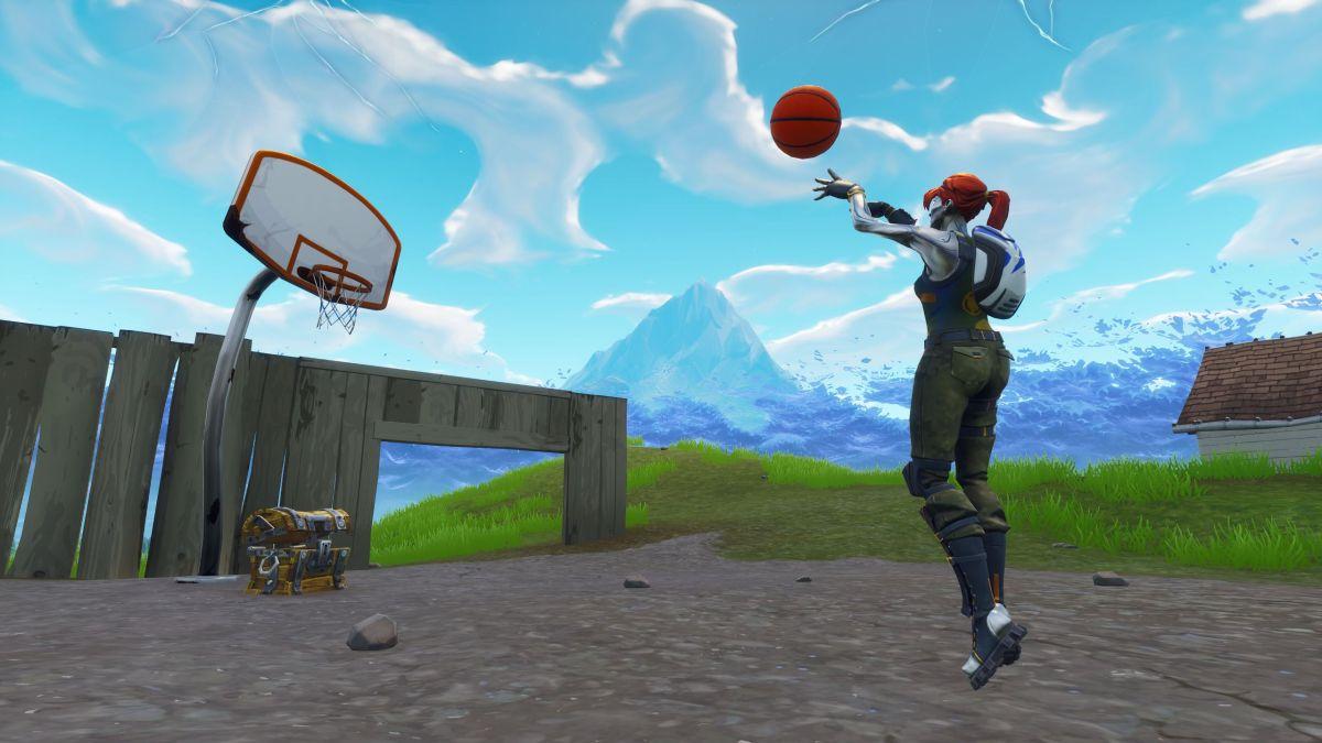 fortnite all 9 basketball hoop locations pc gamer. Black Bedroom Furniture Sets. Home Design Ideas