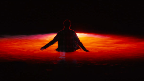 The waters burn bright in 'What Lies Below.'