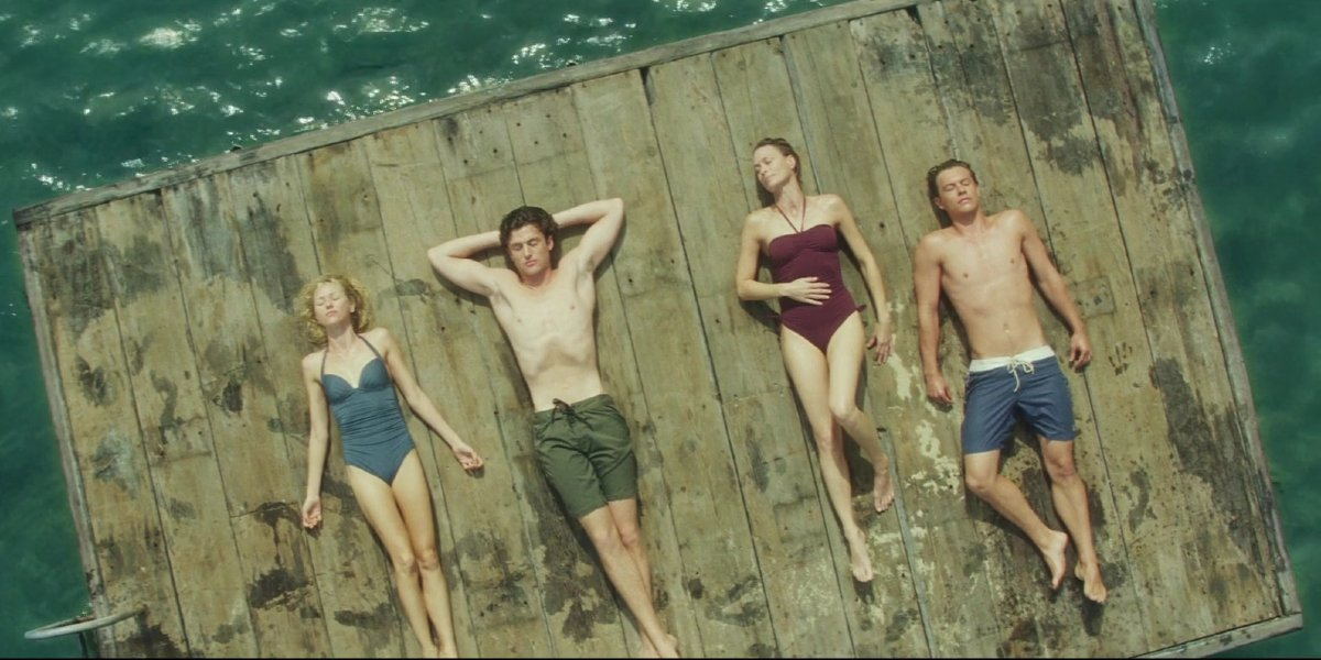 Xaiver Samuel, Naomi Watts, James Frecheville, and Robin Wright in Adore