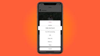 Instagram hide likes feature