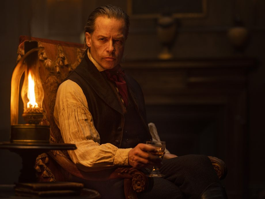 Guy Pearce in A Christmas Carol