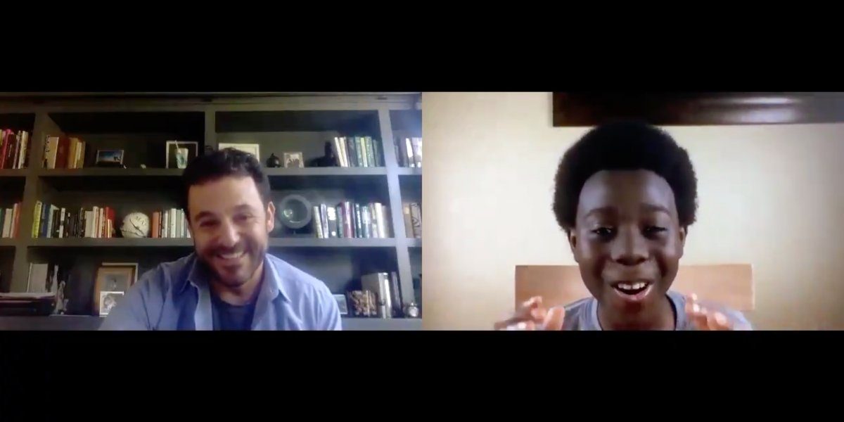 "Fred Savage and Elisha ""EJ"" Williams discussing The Wonder Years"