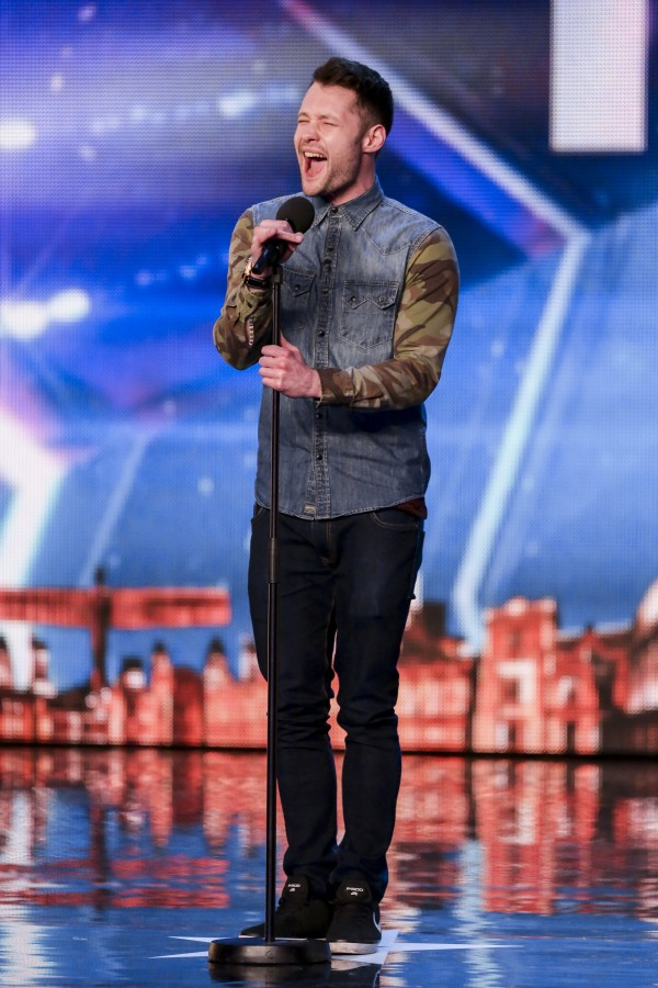 Calum Scott croons on BGT (SYCO/THAMES TV)