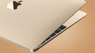Macbook 2015 laptop open showing keyboard