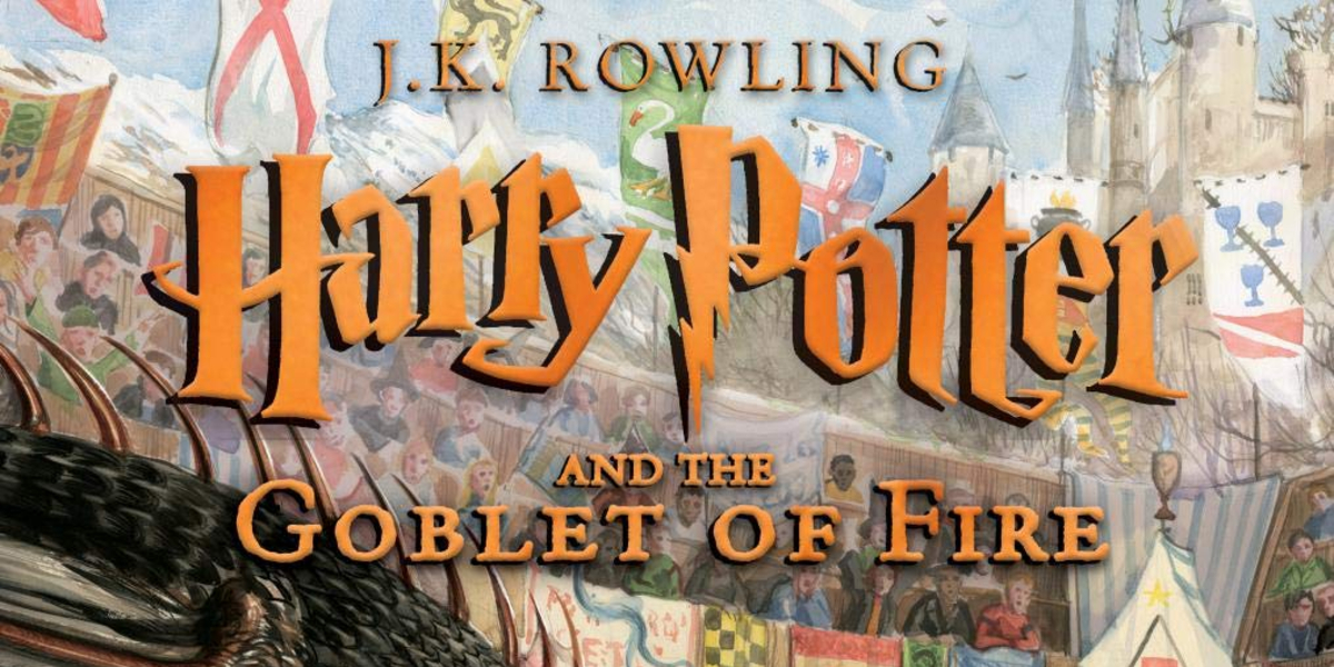 Goblet of Fire Illustrated cover