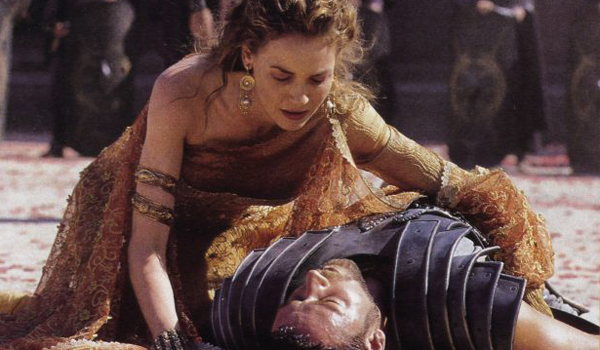 russell crowe back from the dead in gladiator 2
