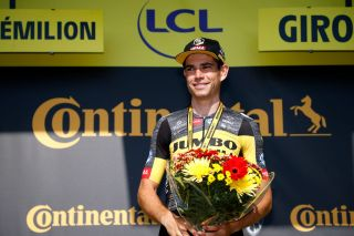 Wout van Aert of Jumbo-Visma wins stage 20, his second stage win of the 2021 Tour de France