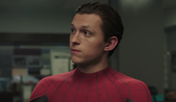 Spider-Man Tom Holland in Far From Home