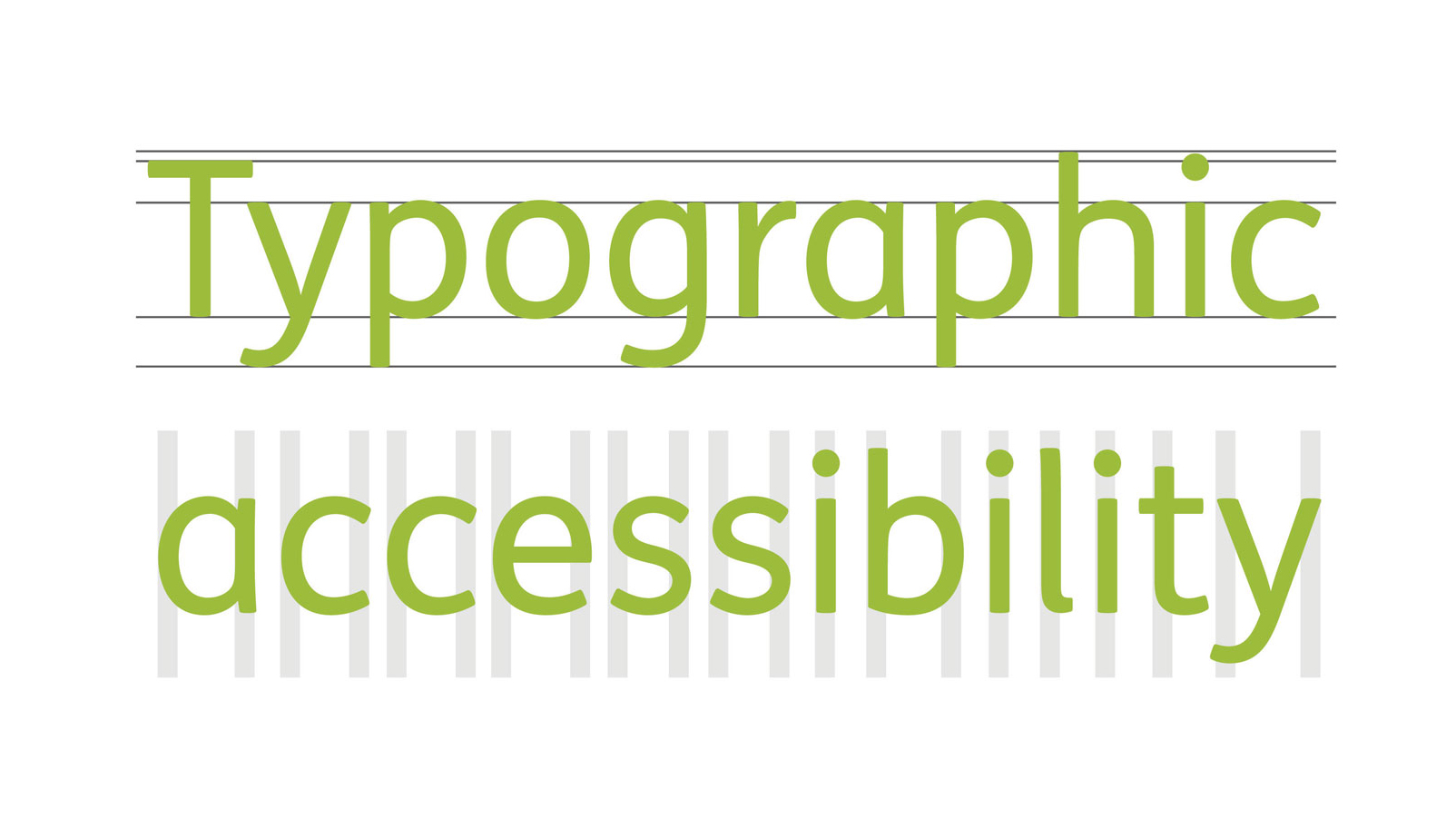 How accessible is your typeface?