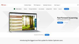 Adobe Captivate Review Listing