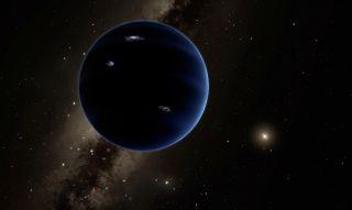 Planet Nine: Artist's Impression