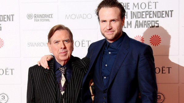 Timothy and Rafe Spall (Joel Ryan/AP)