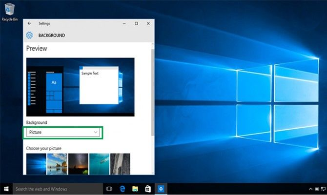 How To Change Your Desktop Background In Windows 10 Laptop Mag