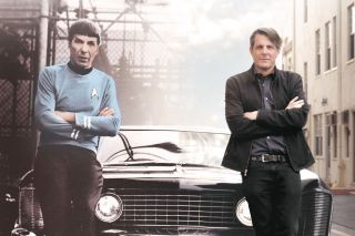 Leonard Nimoy and Son Adam