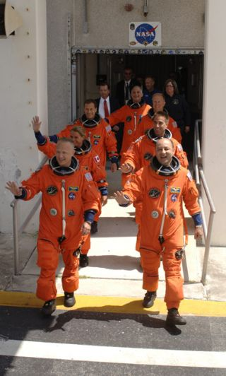 Astronauts Rest Up From Shuttle Launch Delays