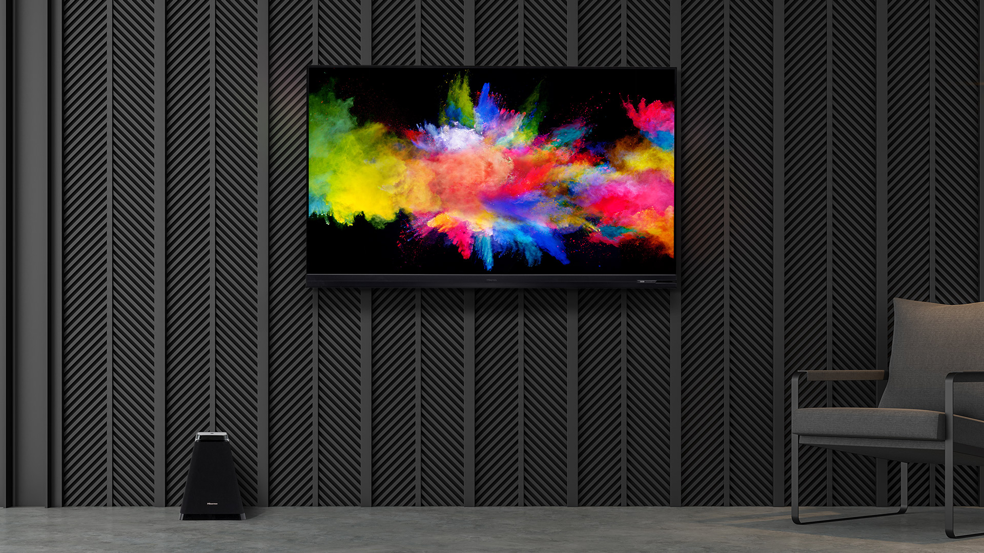 Hisense Dual Cell TV