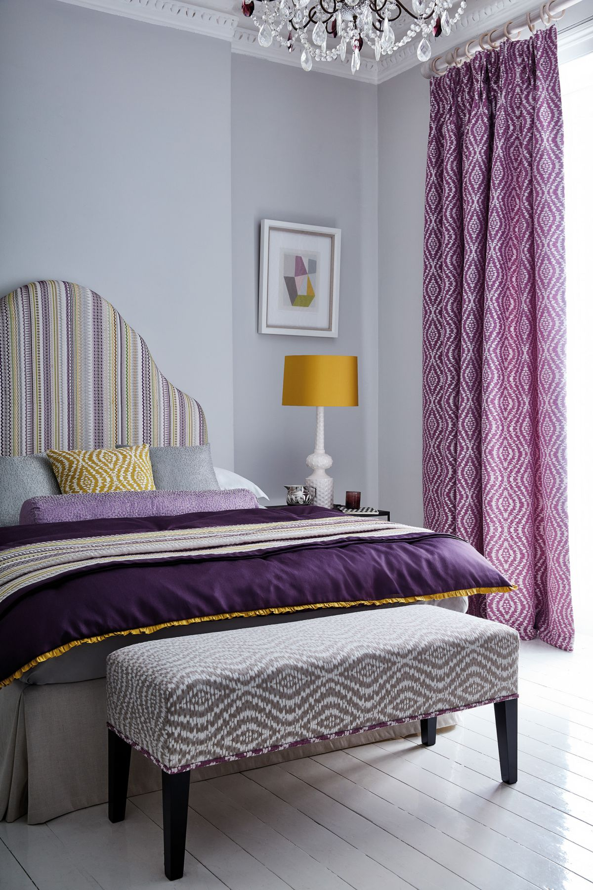Bedroom curtain ideas: 16 curtain designs for beautiful ...
