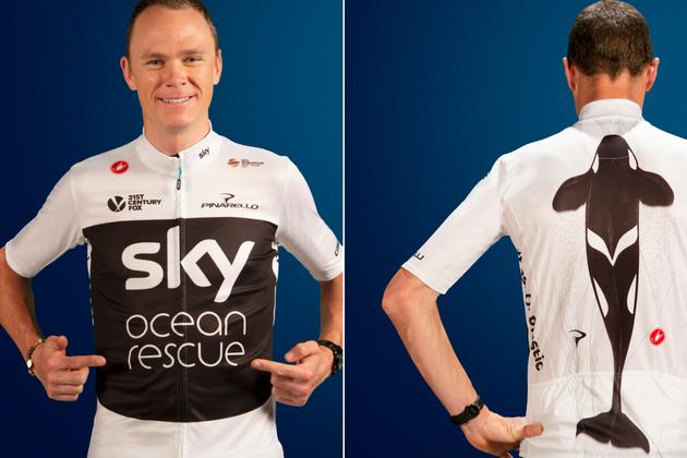 Team Sky unveil special edition jersey for 2018 Tour de France ... 5a7c9a68a