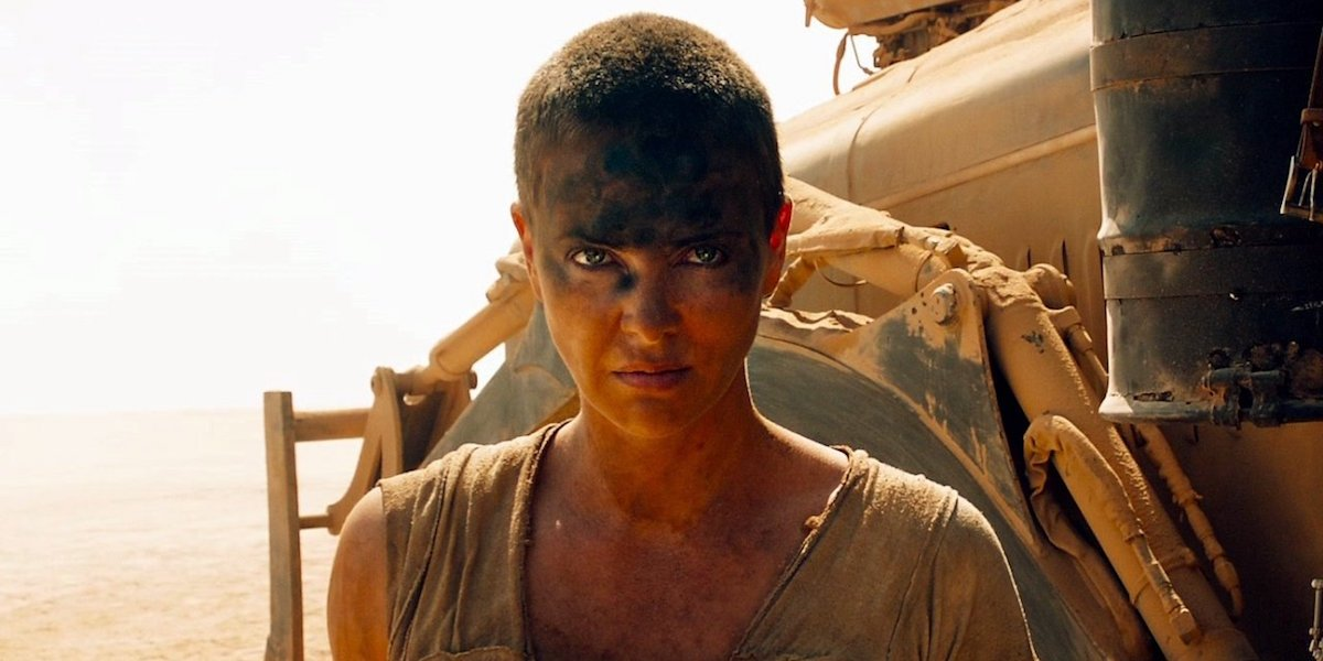 Charlize Theron as Furiosa in Mad Max: Fury Road